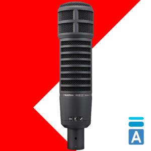 Electro-Voice RE20 Black studijski mikrofon :: Artist d.o.o. Banja Luka, Sarajevo