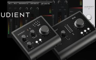 Audient audio interfejsi – nova MK2 generacija