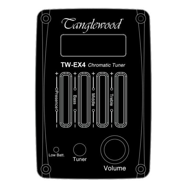 Tanglewood TW-EX4 elektronika sa ugrađenim štimerom